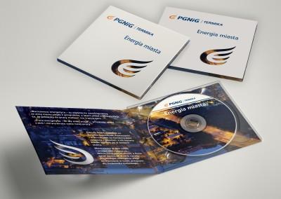 Projekt i produkcja płyt CD.