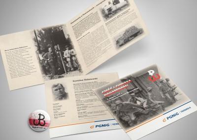 Projekt i druk broszury.